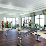 Keeping fit in the fresh ocean air at Gabayan Riviera Fitness Center